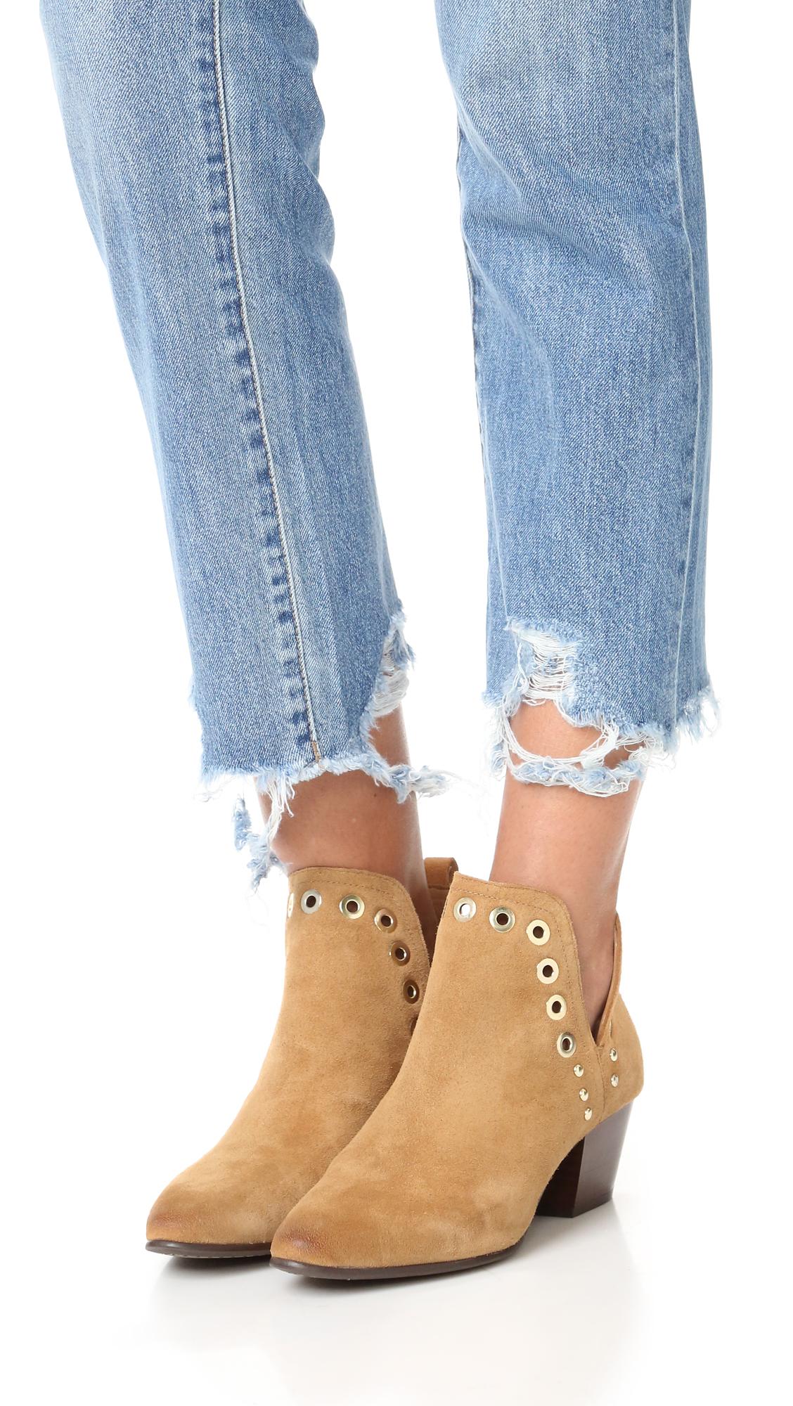 Sam Edelman Women's Rubin Ankle Bootie Gant Bottes neige Anne Gant i5lNGg
