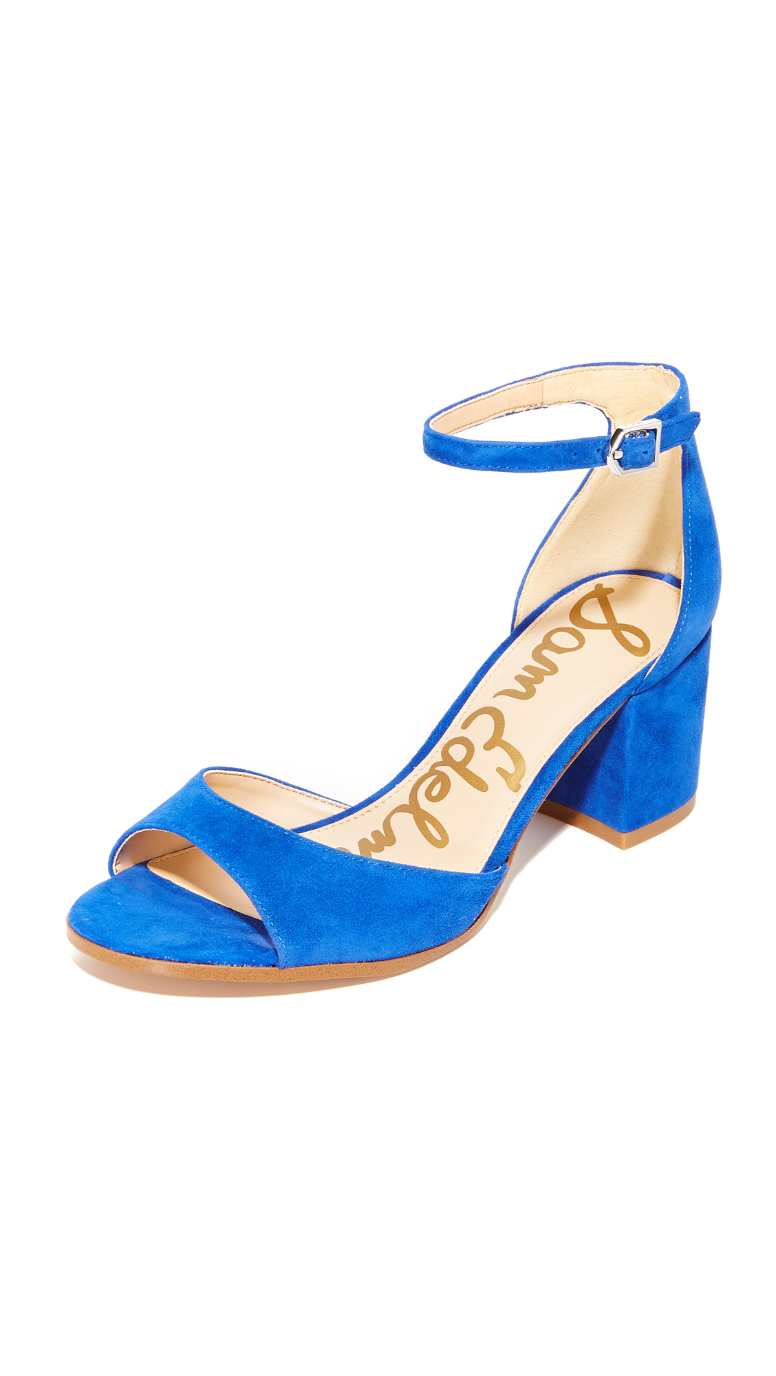 Photo of Sam Edelman Susie City Heels Nautical Blue - Sam Edelman online