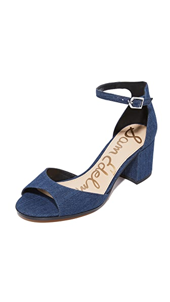 Sam Edelman Susie City Heels - Navy
