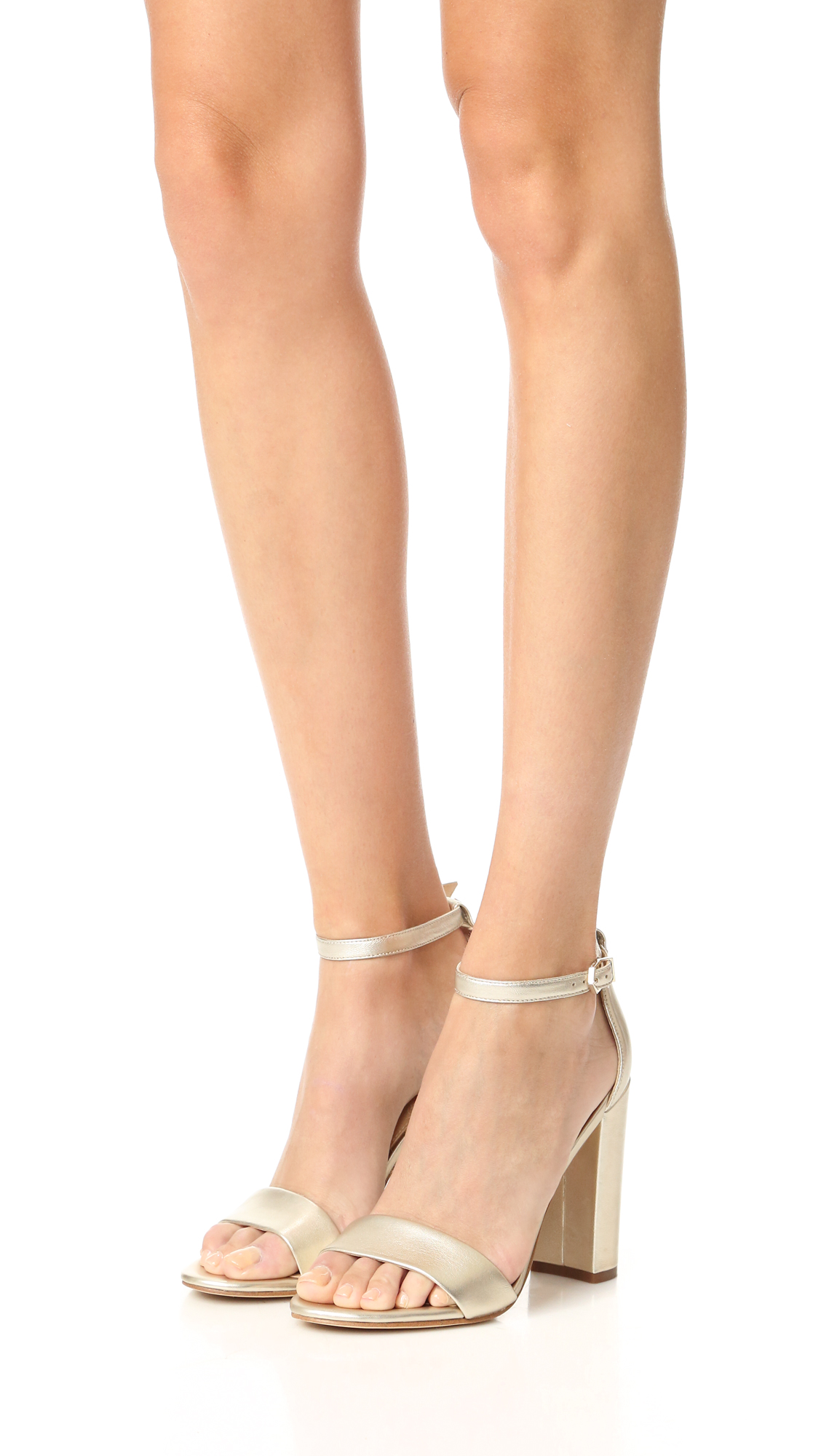 Sam Edelman Yaro Leather Ankle-Strap Sandals TQtBs