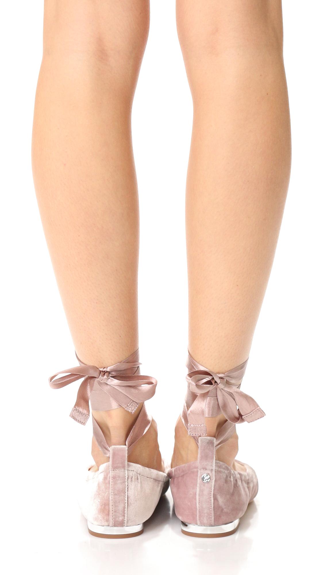 1f91bf242d1fec Sam Edelman Velvet Fallon Ballet Flats