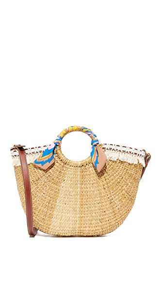 Sam Edelman Straw Beach Tote