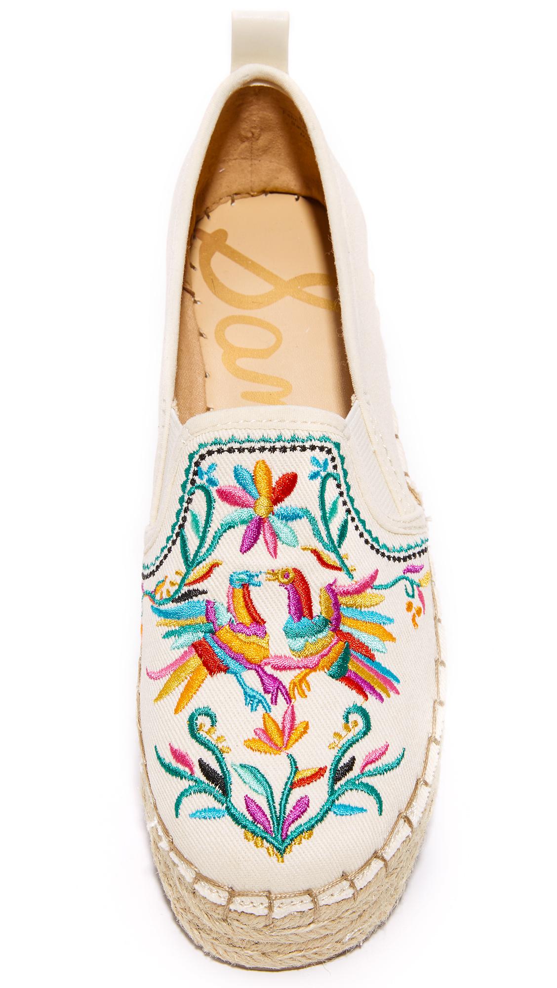 27166823ce90 Sam Edelman Carrin II Embroidered Espadrilles