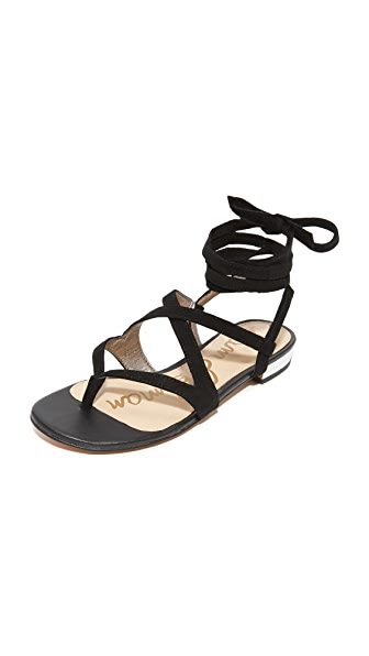 Sam Edelman Davina Sandals - Black