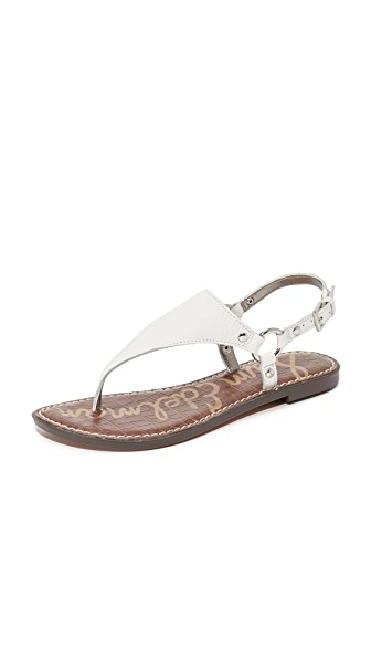 Sam Edelman Greta Sandals - Bright White