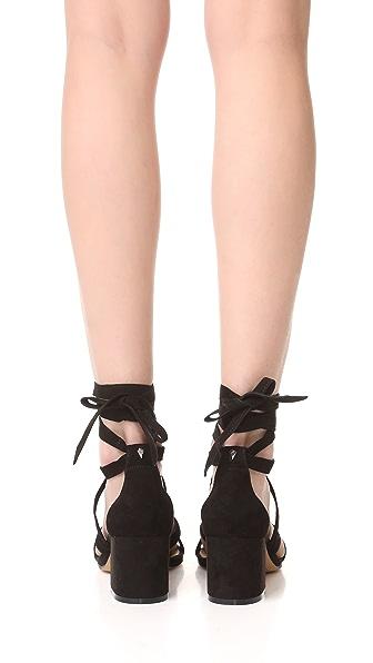 SAM EDELMAN Sheri Suede City Sandals