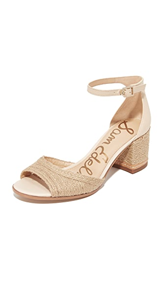 Sam Edelman Susie II City Sandals - Natural/Summer Sand