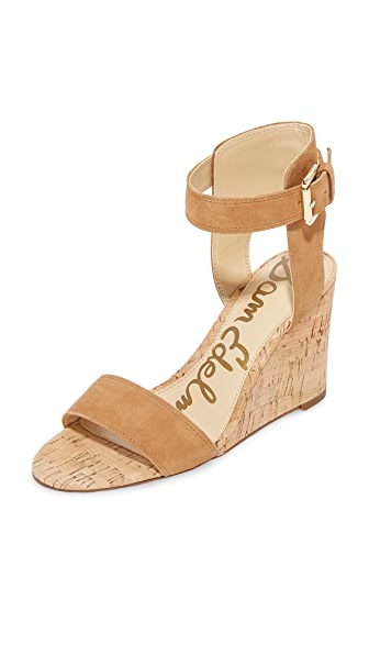 Sam Edelman Willow Wedges - Saddle
