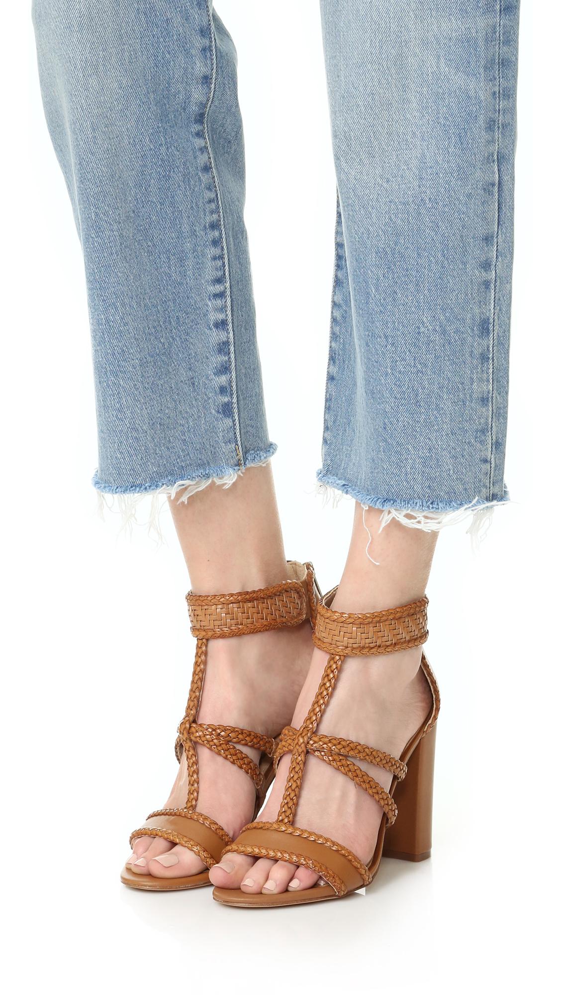 a97808238274f Sam Edelman Yordana Woven Leather Sandals
