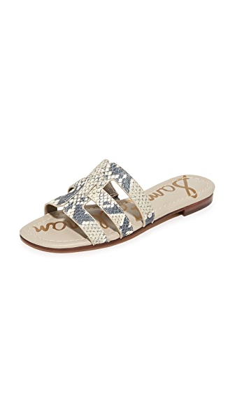 Sam Edelman Berit Slide Sandals - Roccia
