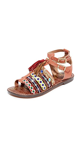 Sam Edelman Linny Sandals - Saddle