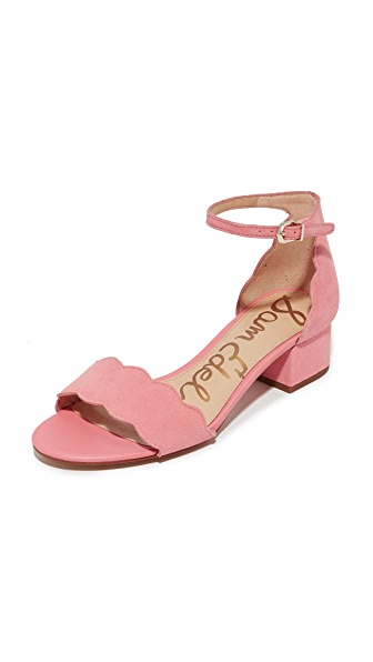 Sam Edelman Inara City Sandals - Peach