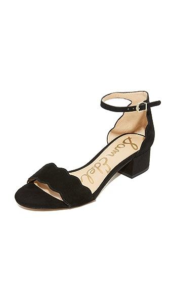 Sam Edelman Inara City Sandals In Black