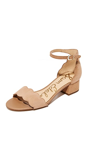 Sam Edelman Inara City Sandals - Golden Caramel