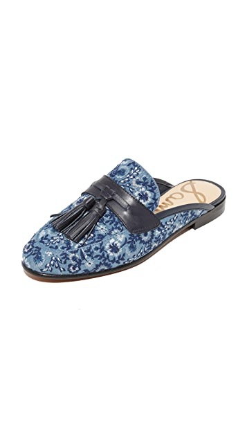 Sam Edelman Paris II Embroidered Mules