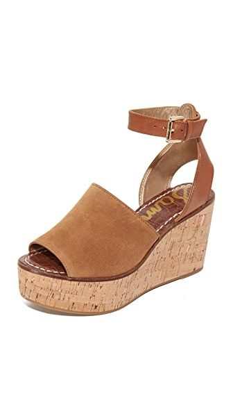 Sam Edelman Devin Wedges - Saddle