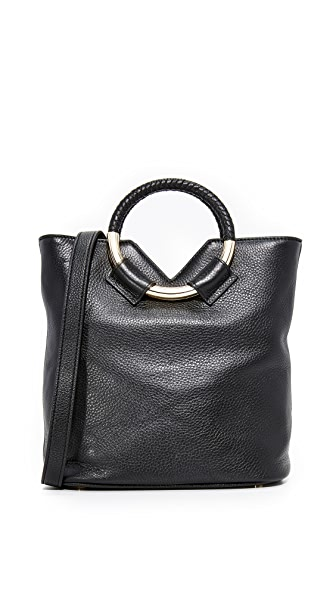 Sam Edelman Elina Small Bucket Bag - Black