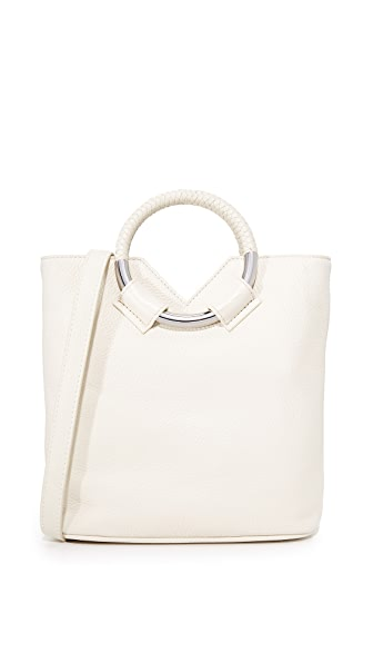 Sam Edelman Elina Small Bucket Bag In Modern Ivory