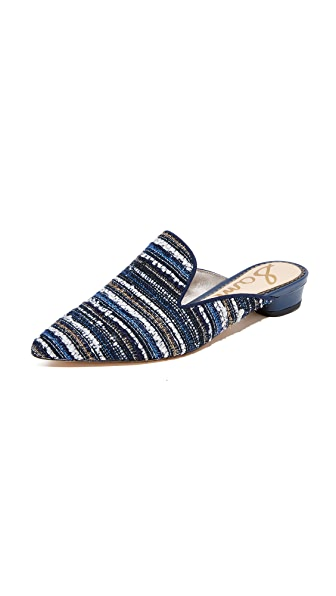 Sam Edelman Ansley 2 Mules In Navy