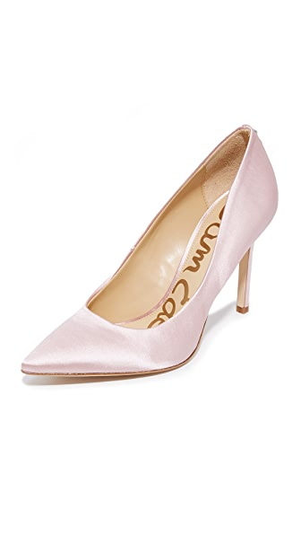 Sam Edelman Hazel Pumps - Pale Pink