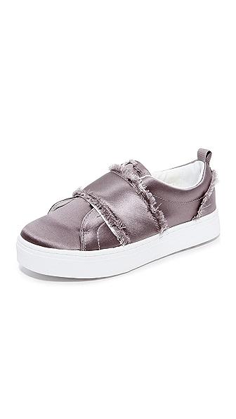 Sam Edelman Levine Sneakers - Light Grey