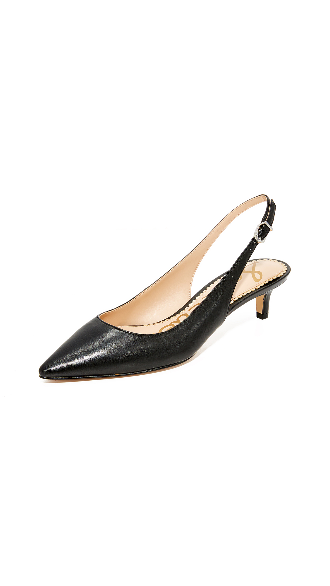 Sam Edelman Ludlow Slingback Pumps - Black