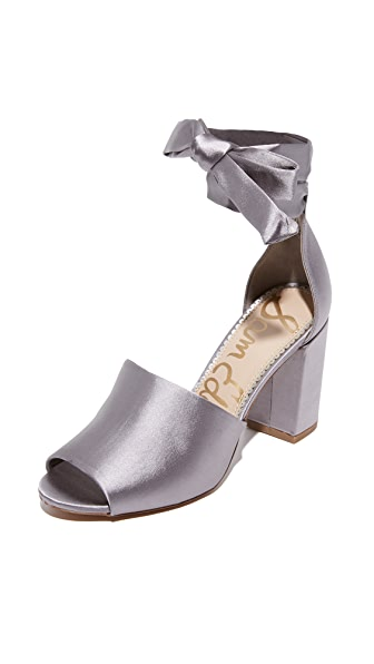 Sam Edelman Odele Sandals - Light Grey