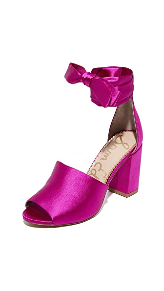 Sam Edelman Odele Sandals - Hot Pink