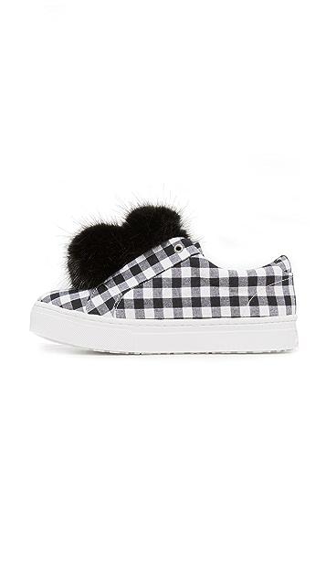 Sam Edelman Leya Gingham Sneakers