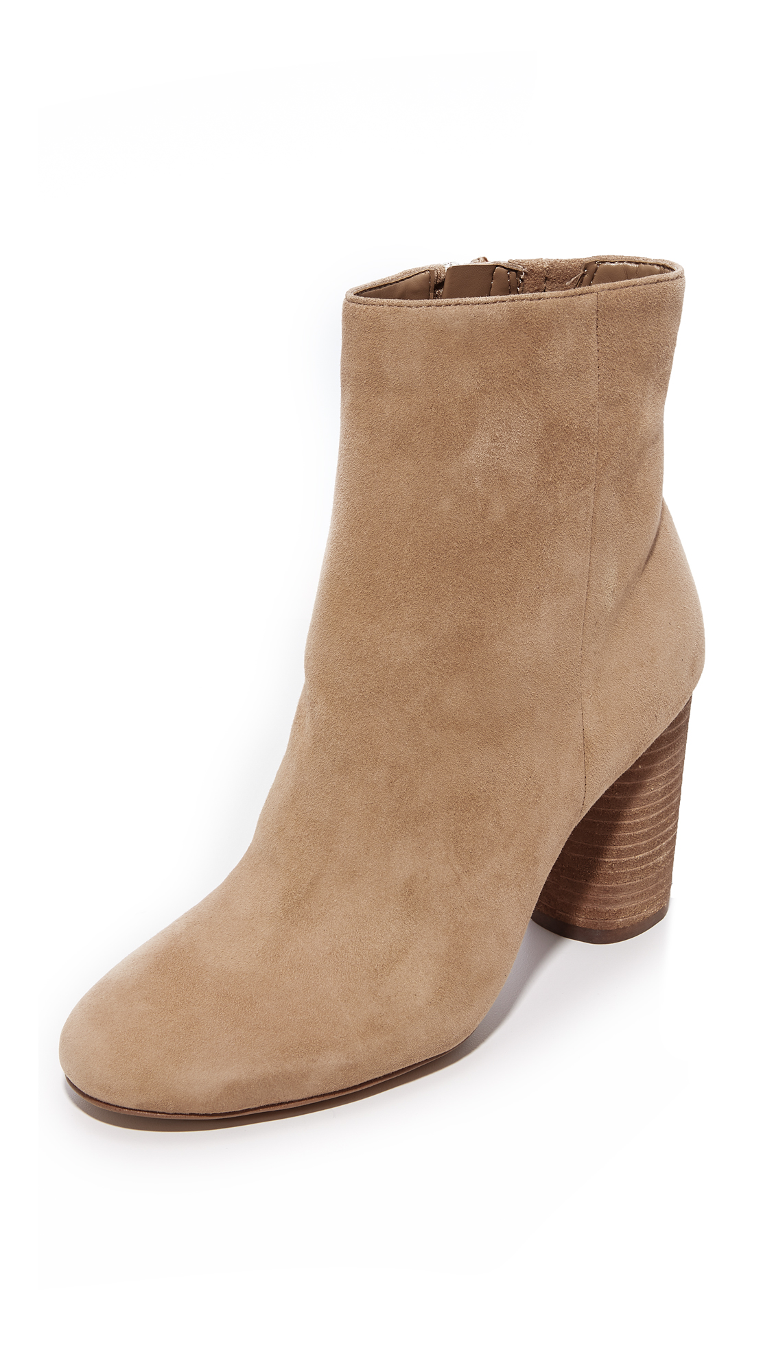 Sam Edelman Corra Booties - Golden Caramel