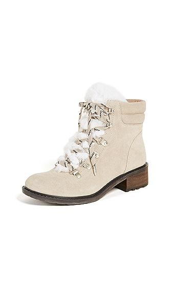 Sam Edelman Darrah 2 Hiker Boots In Desert/Off White