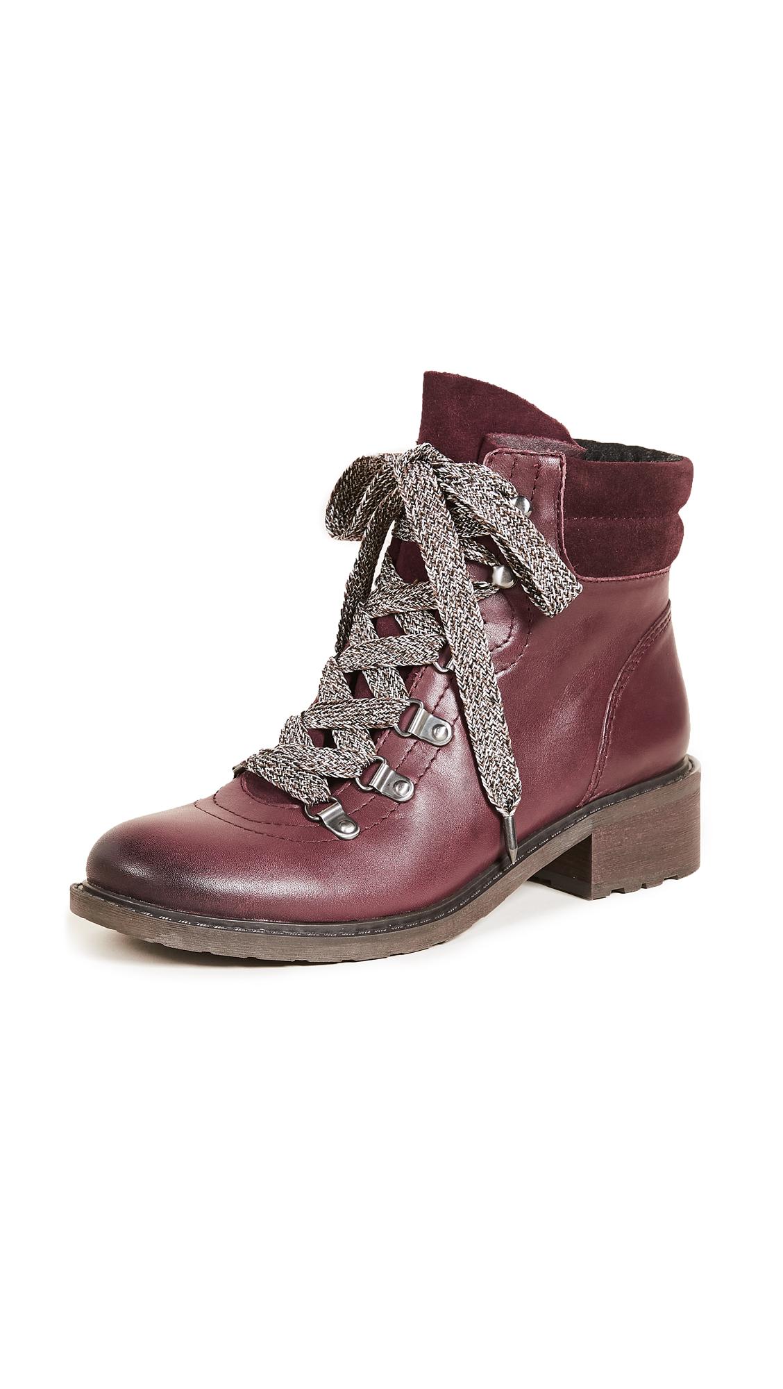 Sam Edelman Darrah Hiker Boots - Malbec