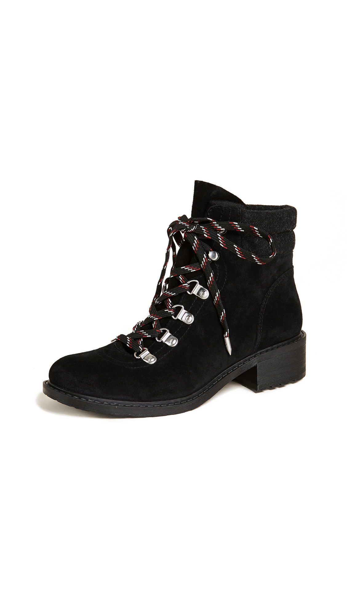Sam Edelman Darrah Hiker Boots - Black/Phantom Grey