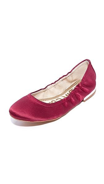 Sam Edelman Farrow Ballet Flats - Cranberry