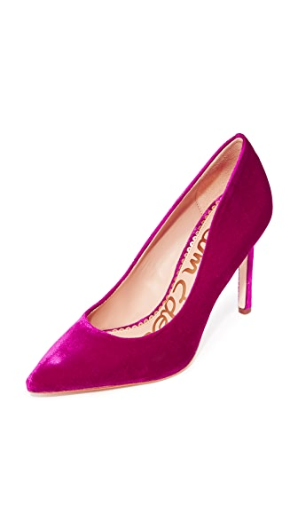 Sam Edelman Hazel Pumps In Virtual Pink