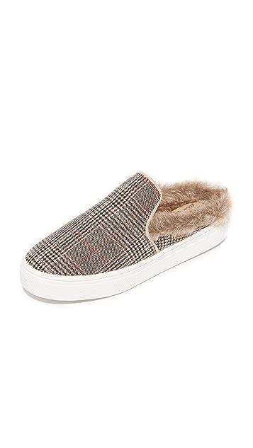 Sam Edelman Levonne Faux Fur Slip On Sneakers