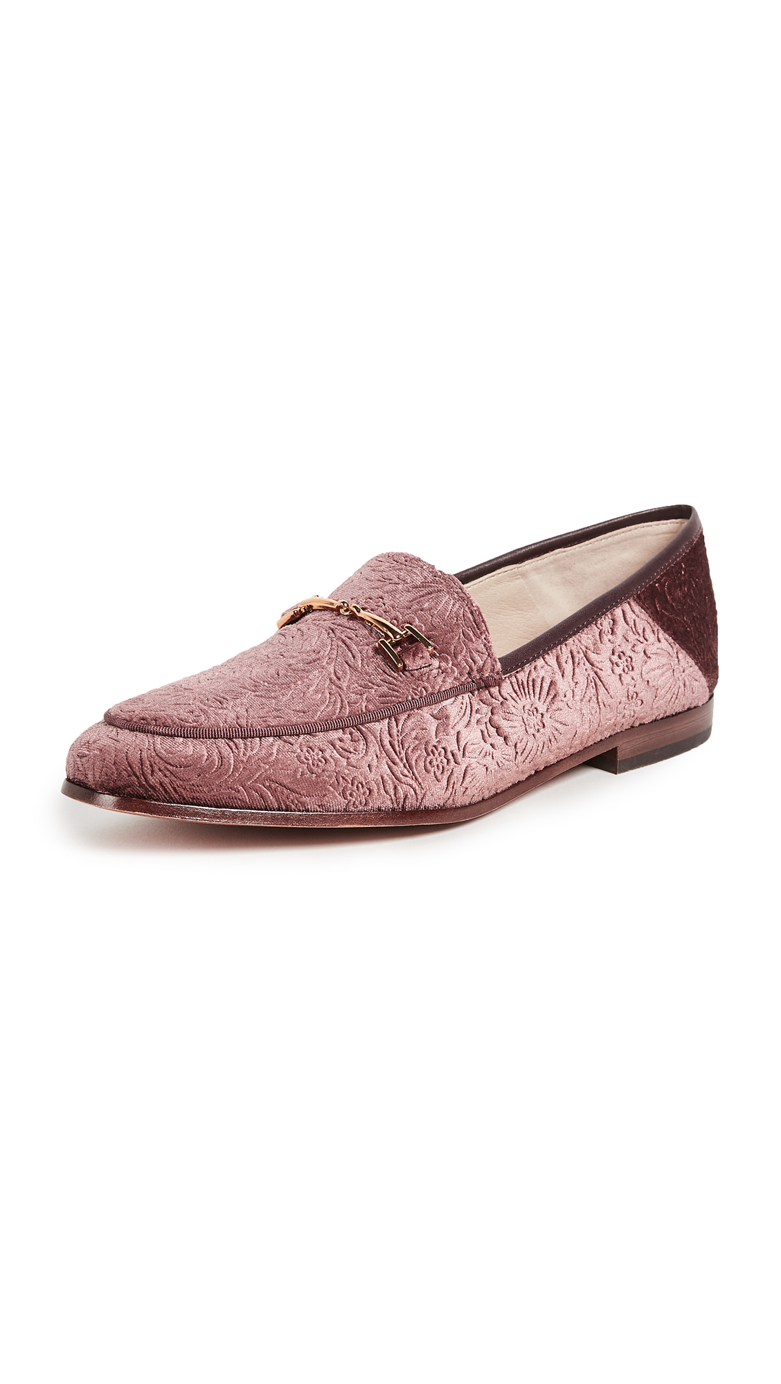 Sam Edelman Loraine Loafers - Mauve Wine