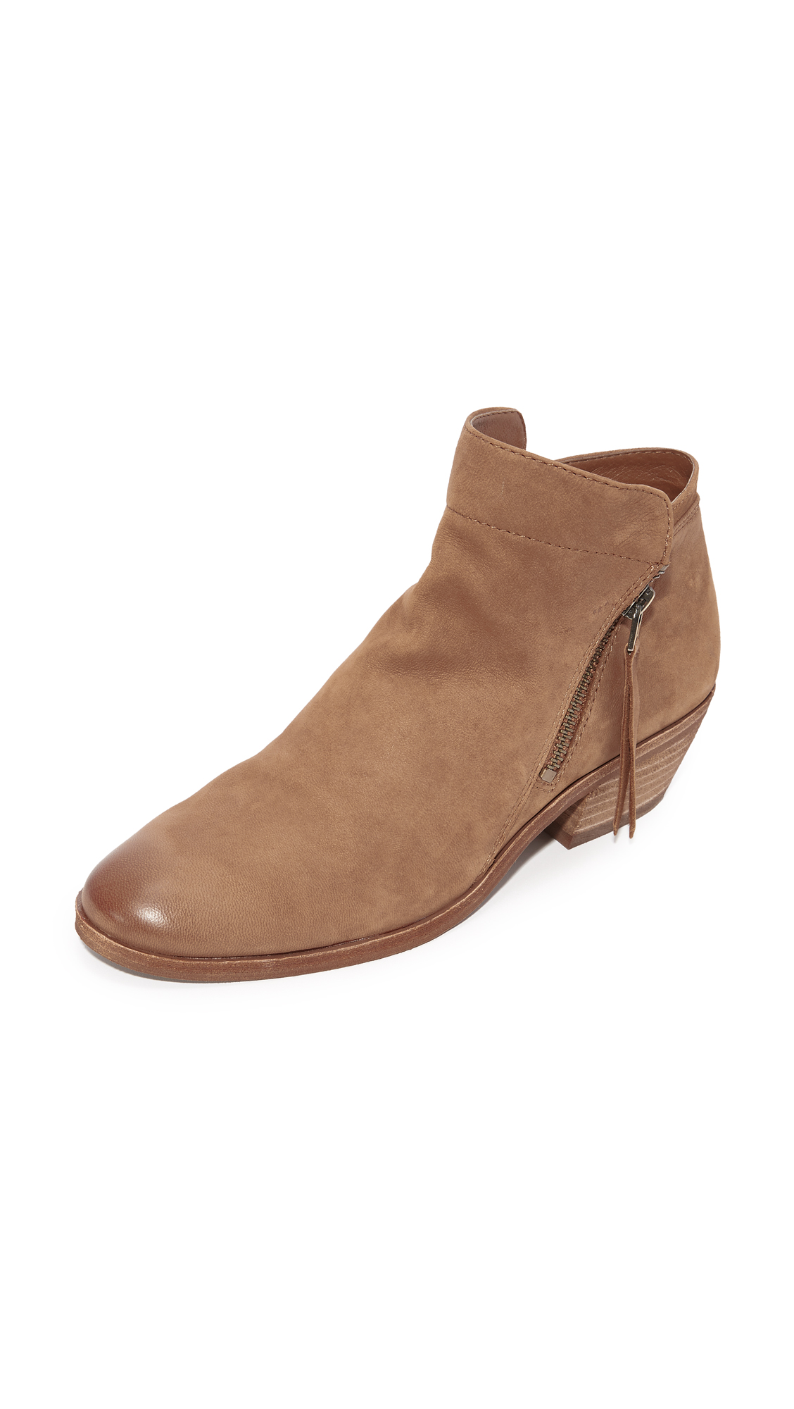 Sam Edelman Packer Booties - Deep Saddle