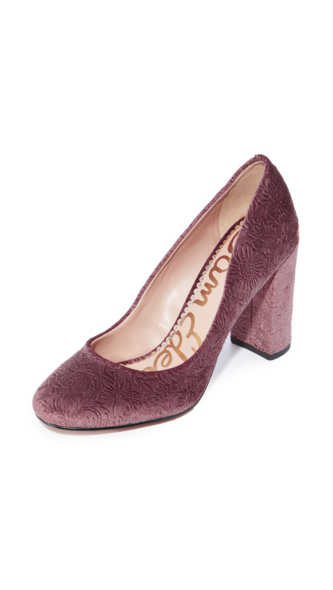 Sam Edelman Stillson Pumps - Mauve Wine
