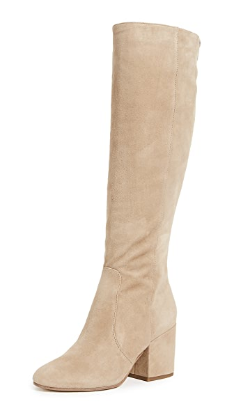 Sam Edelman Thora Tall Boots In Oatmeal