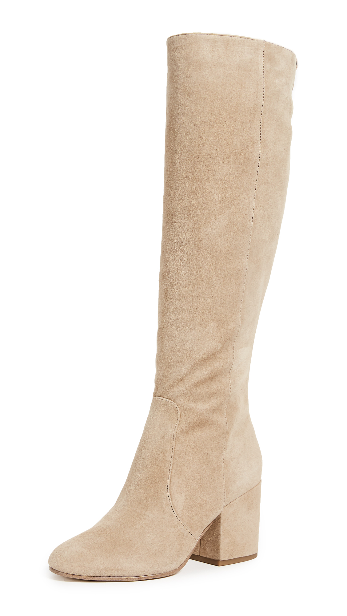 Sam Edelman Thora Tall Boots - Oatmeal