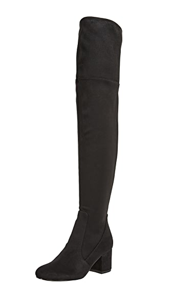 Sam Edelman Varona Thigh High Boots In Black