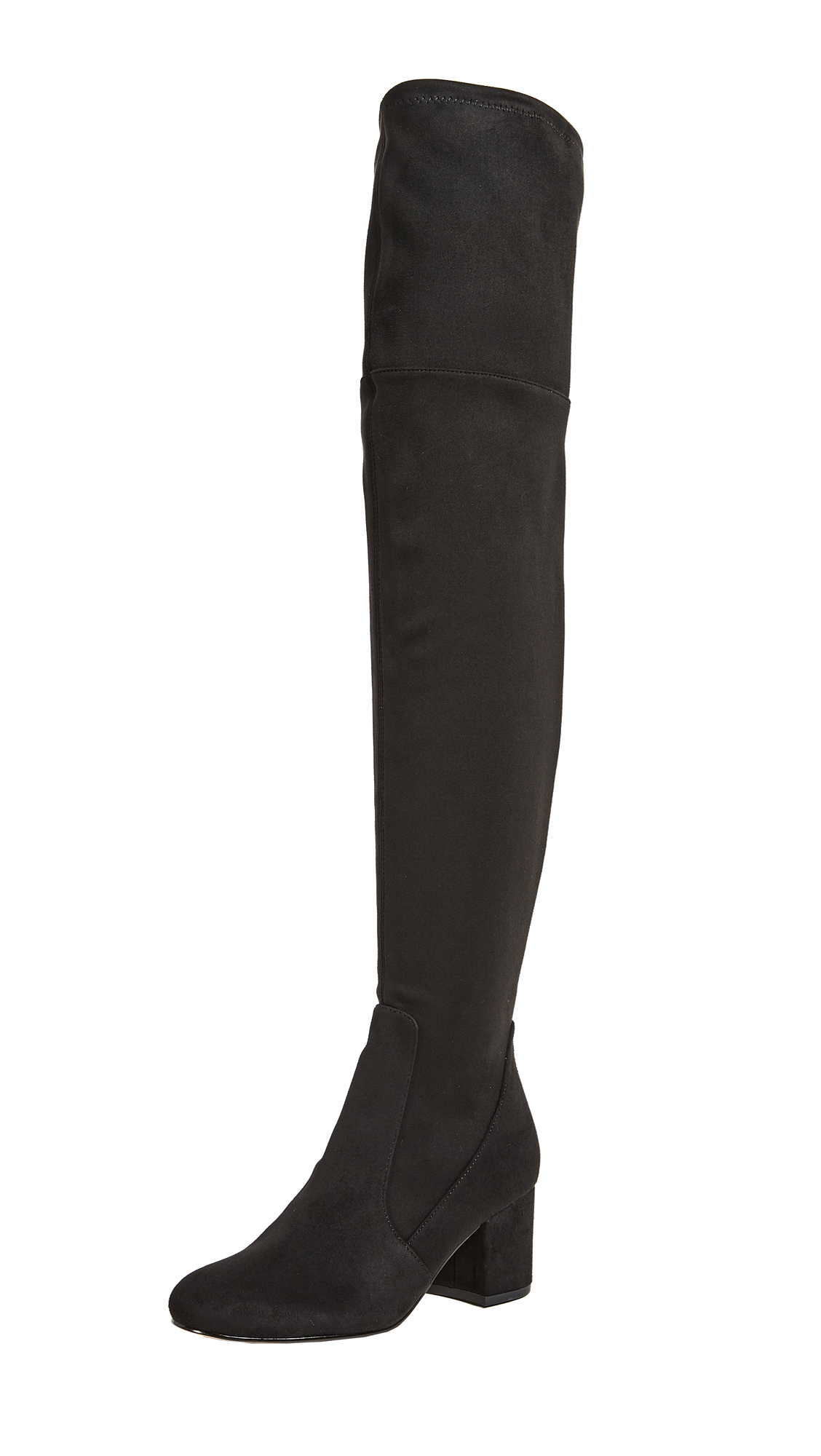 Sam Edelman Varona Thigh High Boots - Black