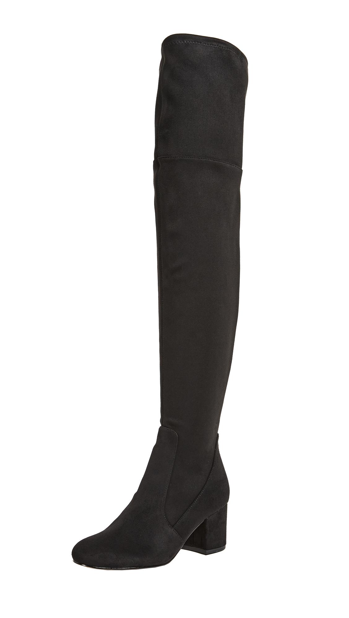 Sam Edelman Varona Thigh High Boots - Black