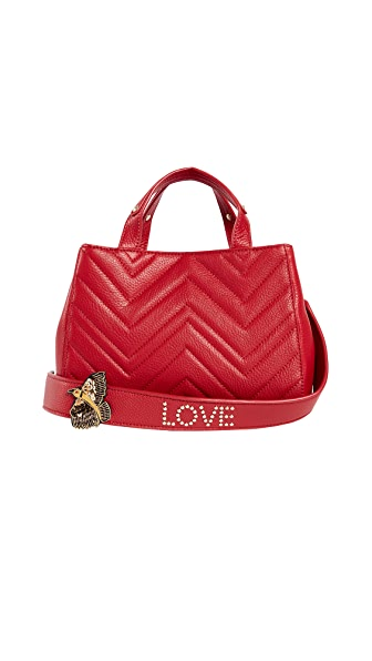 Sam Edelman Gianna Mini Satchel In Red