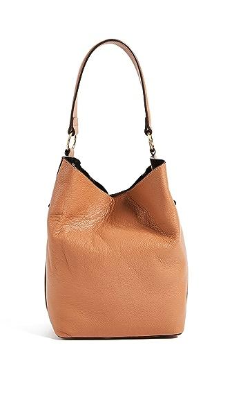Sam Edelman Renee Bucket Bag In Camel