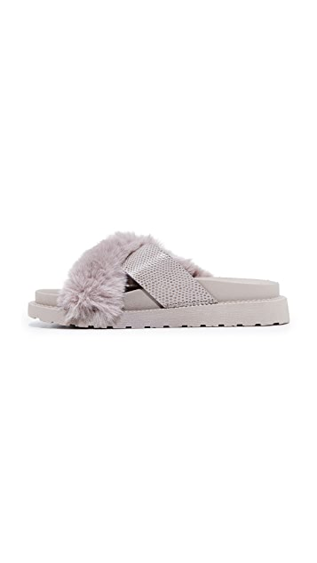 Sam Edelman Bianca Faux Fur Sandals