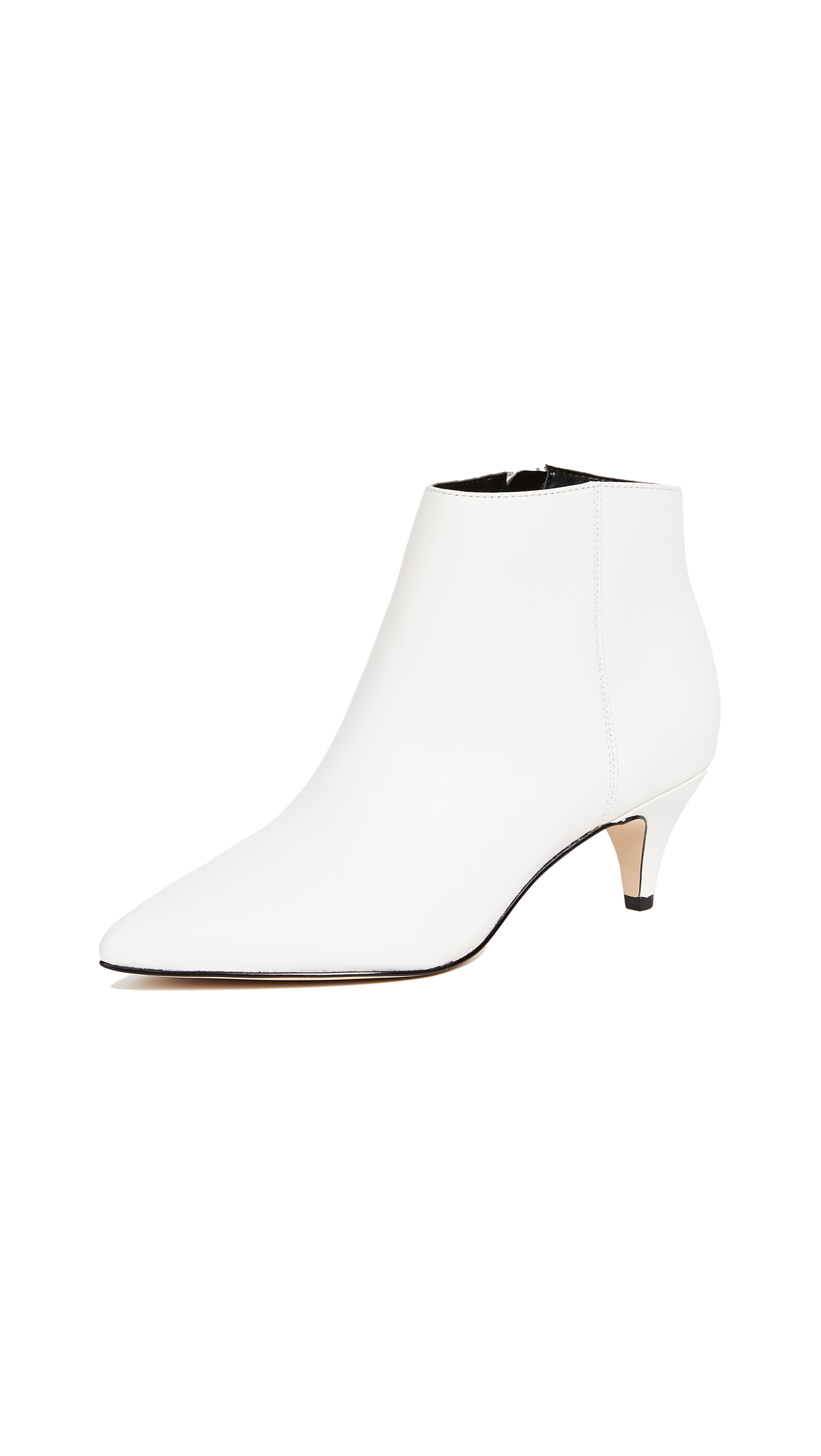 Sam Edelman Kinzey Booties - Bright White