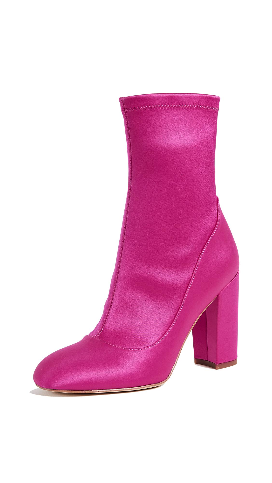 Sam Edelman Calexa Sock Booties - Berry Crush
