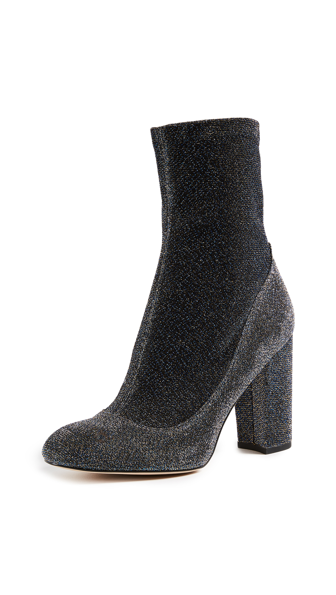 Sam Edelman Calexa Sock Booties - Blue/Gold